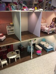 American Girl size doll house