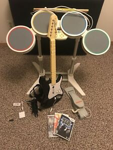 Wii Rock Band Kit