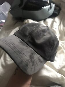 American Eagle Dark Brown Suede Hat