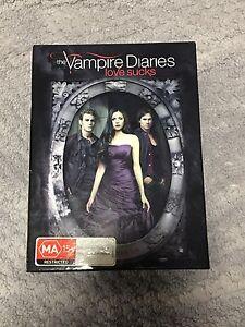 Vampire Diaries box set season 1-5 Warners Bay Lake Macquarie Area Preview