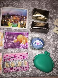 Wallets, guess, purse, roxy, Hurley, volcome, cosmetic bags