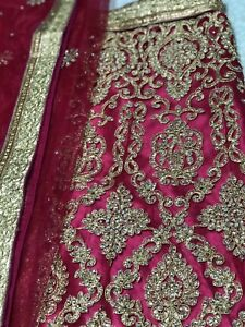 Brand New Magenta Lengha! Indian Clothing 3 piece