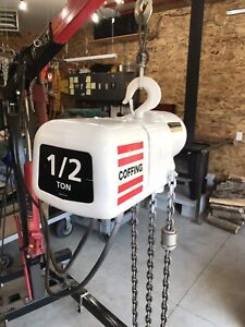 1/2 Ton Coffing Electric Chain Hoist