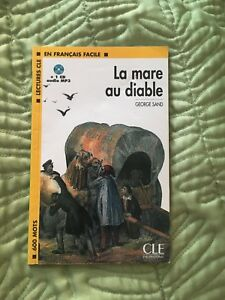 """La mare au diable"" by george sand book (with a cd)"