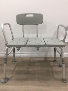 Shower chair and toilet safety rails