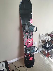 Snowboard/ boots