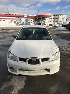 2007 Impreza sedan Quebec plated