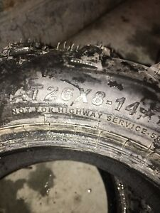 26x8-14 and 26x10-14 Takeoff ATV Tires