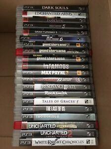 Jeux de PS3 à partir de 10$ chacun