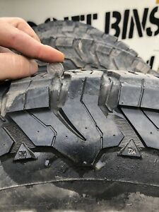 All terrain tyres and dynamic rims