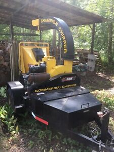 Champion CX556 Commercial Chipper