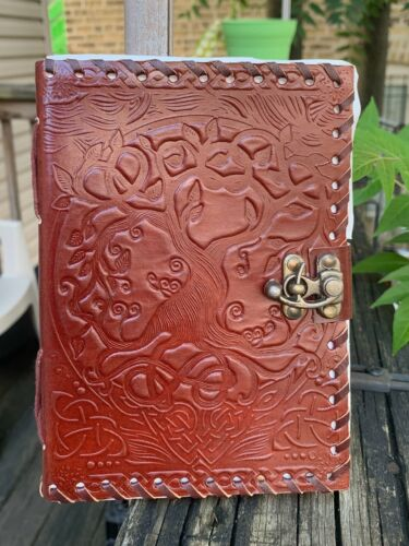 Tree of Life Leather Bound Journal
