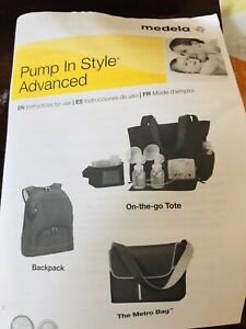 Medela pump and style advanced (dual pump)