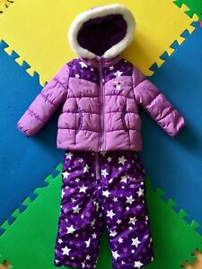 Habit de neige fille 18 mois / Girl snowsuit