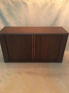 Vintage Bell & Howell stereo cabinet