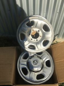 Four steel Holden Colorado brand new rims Tabulam Tenterfield Area Preview