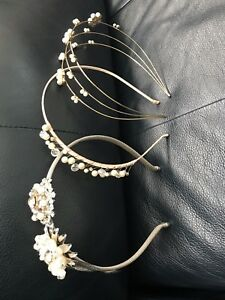 3 beautiful new bridal headbands, 60 for all 3 or 20 each.