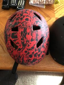 2 kids recreation safety helmets