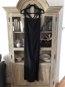 Belle robe noire cocktail ou de bal, gr : 12 ans