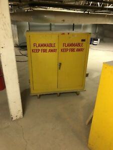 Flammable paint cabinets 400 each