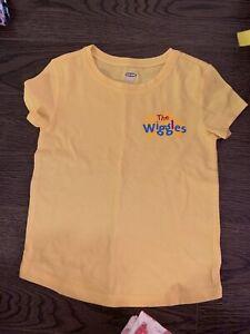 5T yellow wiggles shirt
