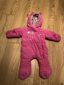 Manteau d'hiver 3-6 mois / winter jacket 3-6 month for baby girl