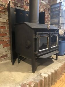 Old woodstove / Fireplace