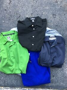 Lot of Mens Golf Shirts