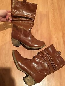 Girl/Women's Boots (cowboy & short) Black & Brown