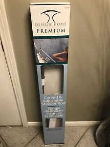 Curved shower rod brand new