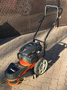 Mobile weed whacker