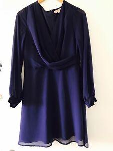 Indigo blue dress