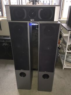 awesome computer speakers. awesome bass speakers x 3 computer