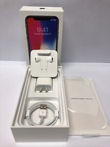 As New Apple iPhone X 256GB - Space Grey Warranty till 9/1/2020