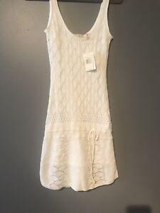 BNWT Guess Crochet Dress - White Size Medium