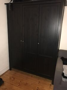 IKEA 3 DOORS HEMNES WARDROBE