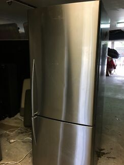 SILVER Fisher and Paykel fridge freezer