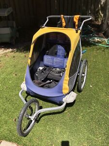 Chariot Double Running/Bike Stroller