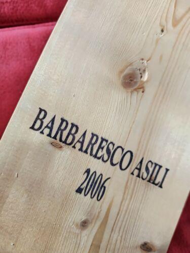 Barbaresco Asili 2006 Michele Chiarlo sigillato nel box originale bottiglia vino