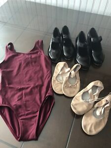 Maritime dance academy bodysuit/tap shoes/ballet slippers