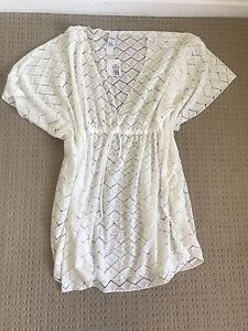 Beautiful Beach Dress Size 26 White brand new with tags Kallaroo Joondalup Area Preview