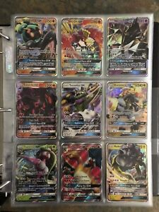 Over 300 unique Pokémon EX/GX/Full Arts/Secret Rares