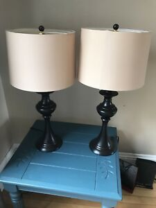 Two beautiful lamps - like new