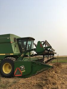 John Deere 30ft header