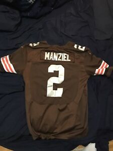 Selling Johnny Manziel Browns jersey