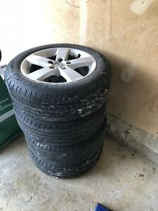 HONDA CIVIC TIRES (Michelin) AND RIMS (114.5)