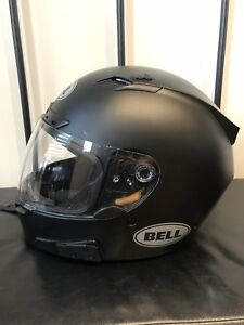 Small Matte black Bell vortex helmet - $120