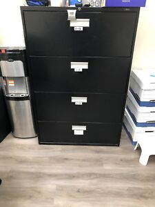 Filing cabinets 4 Drawer Metal Prosource