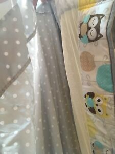 Breathable Crib bumper pads