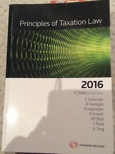 Principles of taxation law Chadstone Monash Area Preview